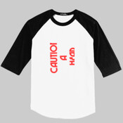 LC Design - Mens Colorblock Raglan Jersey